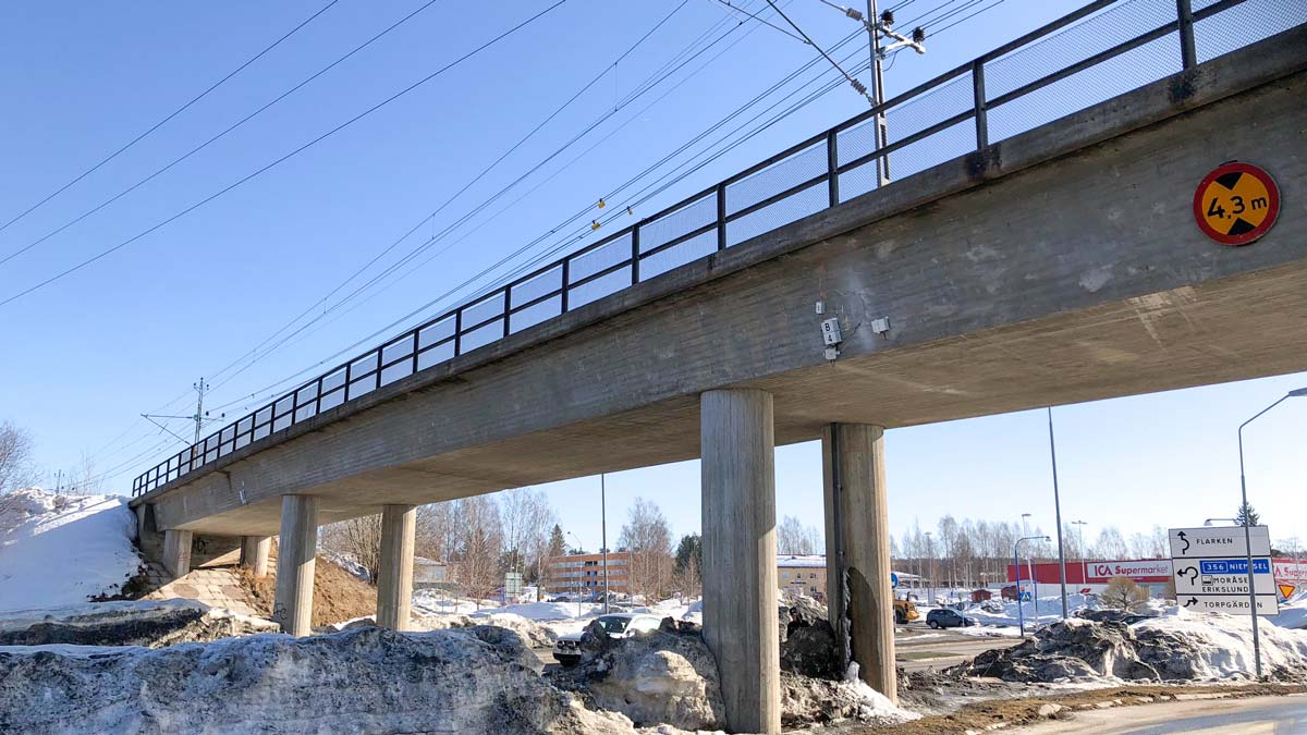 Reparation och förstärkning järnvägsbro - Invator