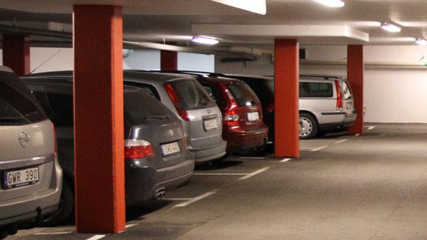 Reparation och förstärkning parkeringsgarage