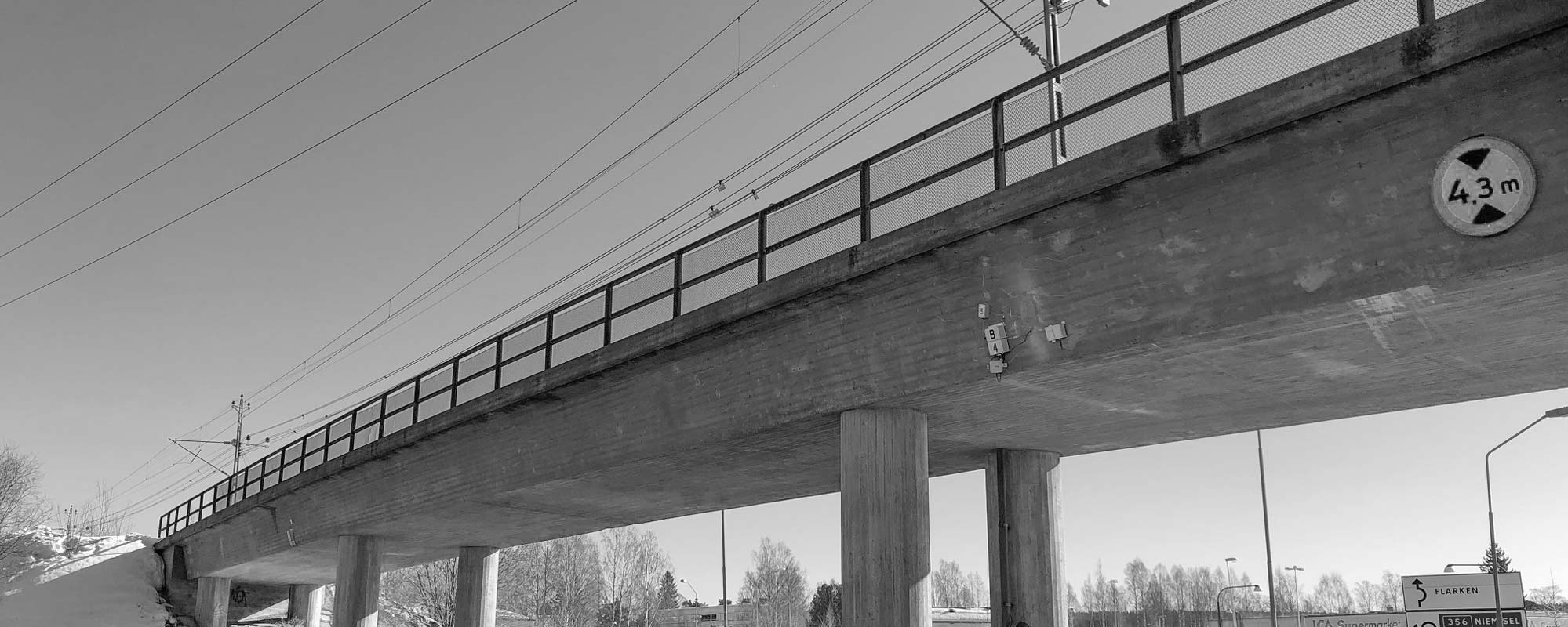 Structural health monitoring av betongkonstruktioner